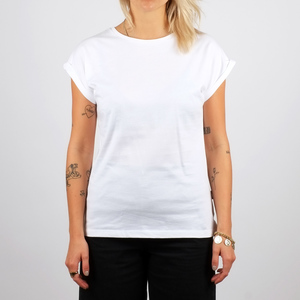 T-shirt Visby	/ White - DEDICATED