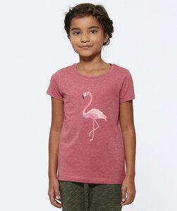 T-Shirt mit Motiv / Flamingo - Kultgut