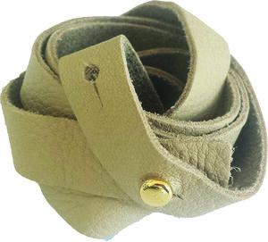 Armband aus Rhabarberleder - deepmello