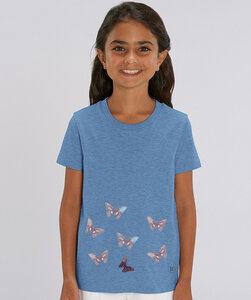 T-Shirt mit Motiv / Schmetterlinge im Bauch - Kultgut