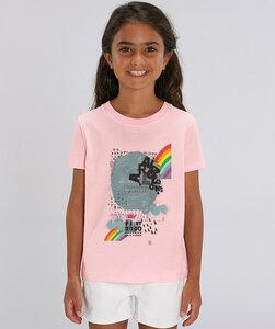 T-Shirt mit Motiv / Rainbow - Kultgut