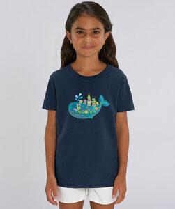 T-Shirt mit Motiv / Zauberwal - Kultgut