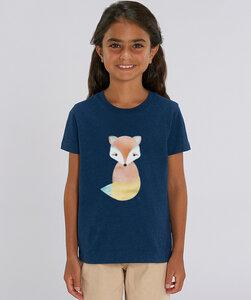 T-Shirt Mädchen mit Motiv / Volpe - Kultgut