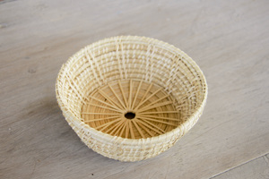 Korb, handgefertigt aus Rattan, dekorative Schale - BY COPALA