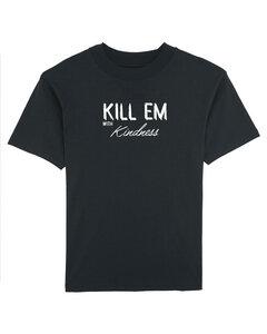 """Bio Herren Rundhals T-Shirt """"Defender - Kill Em"""" in schwarz oder weiß - Human Family"""