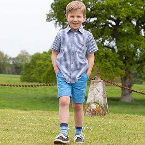 Kinder Shorts Azure  - Kite Clothing