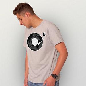 """""""Scratch It"""" Männer T-Shirt - HANDGEDRUCKT"""