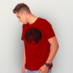 """""""Supermond"""" Männer-T-Shirt - HANDGEDRUCKT"""