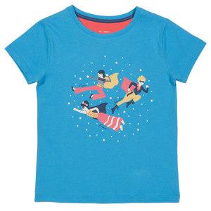 Mädchen T-Shirt Super Girls - Kite Clothing