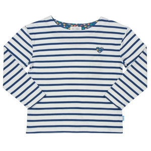 Kinder Langarm-Shirt Breton Heart - Kite Clothing