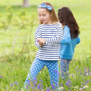 Kinder Langarm-Shirt Breton Heart - Kite Clothing