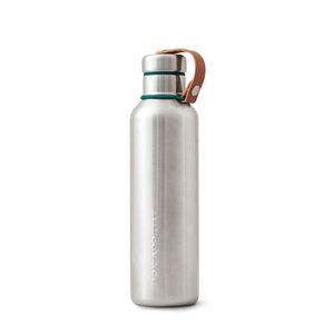 Isolierte Trinkflasche aus Edelstahl 0,75 Liter - Black + Blum