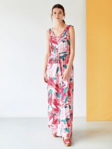 Kleid - Blomst Maxi Dress – Mehrfarbig - Thought