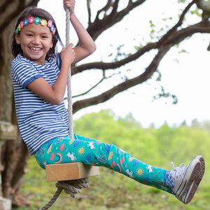 Mädchen Leggings Happy Me - Kite Clothing