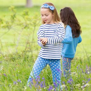 Mädchen Leggings Smiley Sun - Kite Clothing