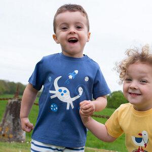 Baby / Kinder T-Shirt Space-Dino - Kite Clothing