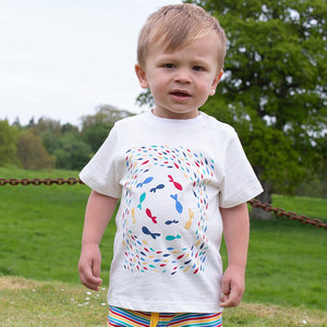 Baby / Kinder T-Shirt Fische  - Kite Clothing