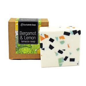 "Terrazzo Seife ""Bergamot & Lemon"" - Eve Butterfly Soaps"