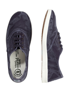 Vegan Damen Sneaker washed - Ingles Enzimatico  - natural world