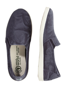 Herren Slipper Trend washed - Cangrejo 2 Elasticos Enzimatico  - natural world