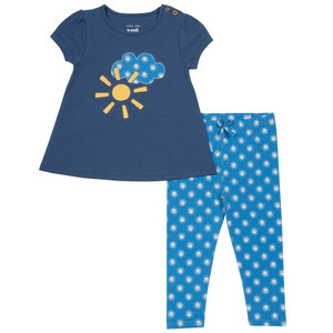 Baby und Kinder Smiley Sun Set Tunika und Legg - Kite Clothing