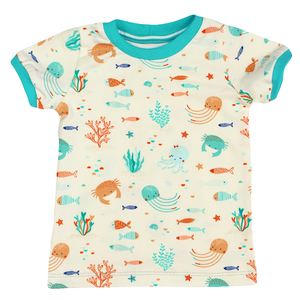 "Bio T-Shirt ""Ocean Party"" - Sternchenwolke"