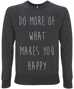 Recycling HAPPY unisex Pullover - WarglBlarg!
