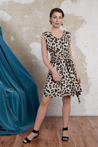 "Kleid Leonie ""animal print"" - ManduTrap"