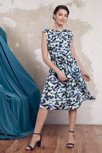 Kleid Isabel aus Baumwoll Voilé - ManduTrap