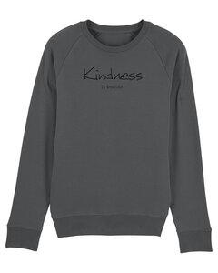 """Bio Herren Sweatshirt """"Practice - Kindness"""" - Human Family"""
