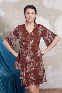 Palmblätter Kleid Amelia - ManduTrap