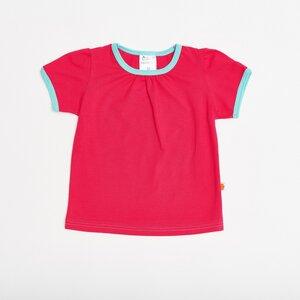 """Mädchen-Top """"Raspberry"""" aus 95% Bio-Baumwolle und 5% Elasthan - Cheeky Apple"""