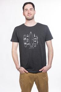 "Herren T- Shirt ""Quiver"" - ecolodge fashion"