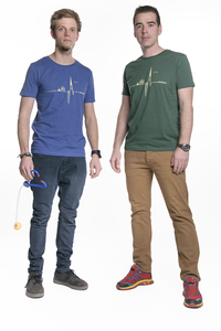"Herren T- Shirt ""Heartbeat"" - ecolodge fashion"