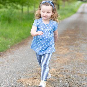 Baby und Kinder Leggings Ringel  - Kite Clothing