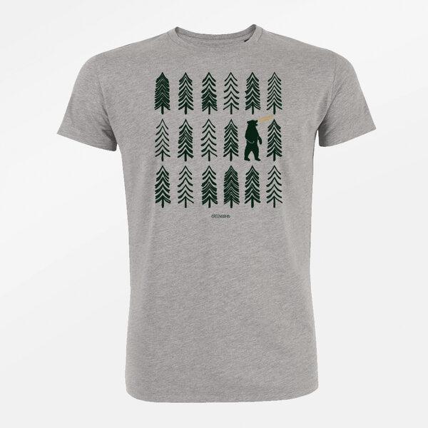 4856e326e4b252 GreenBomb - T-Shirt Guide Nature Bear Forest