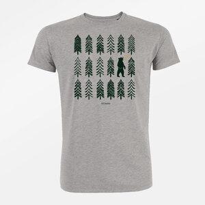 T-Shirt Guide Nature Bear Forest - GreenBomb