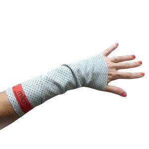 Armstulpen | Bio | Mini Dots - milch Basics