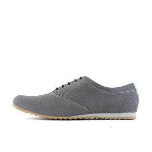'53 Grey + Mint Baumwoll Sneaker - SORBAS