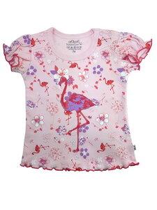 Baby T-Shirt rosa allover Bio Baumwolle EBi & EBi - EBi & EBi