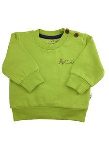 Baby Sweatshirt kiwi Bio Baumwolle EBi & EBi - EBi & EBi
