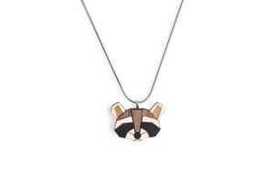 Halskette Raccoon - BeWooden