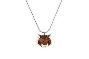 Halskette Tiger - BeWooden