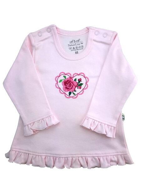 pretty nice 2c610 f42e7 Mädchen Langarm Shirt rosa Bio Baumwolle EBi & EBi
