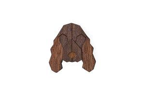 "Brosche aus Holz ""Cocker Spaniel ""    Mode Schmuck - BeWooden"