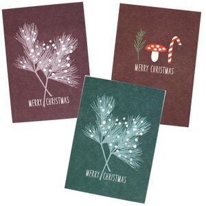 Weihnachtliches Postkarten-Set - ava&yves