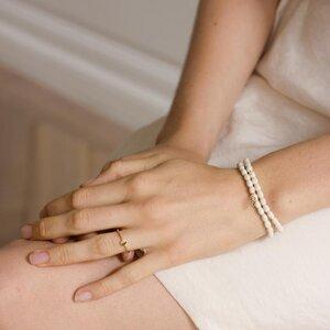 Himalaya Wood Bracelet Mini Leaf  - Julia Otilia Conscious Jewellery