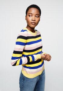 Pullover aus Bio-Baumwolle OXANAA MULTI STRIPES - ARMEDANGELS