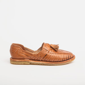 Huarache Tassel Loafer Frida Natural - CANO
