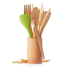 Bambus 2-er Rührlöffel-Set - Bambu